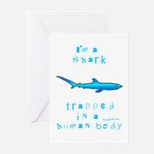 I'm a Shark Greeting Cards (Pk of 10)