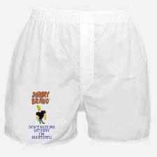 Beautiful Johnny Bravo Boxer Shorts