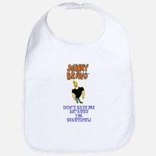 Beautiful Johnny Bravo Bib