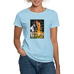 Fairies / Gr Dane (h) Women's Light T-Shirt