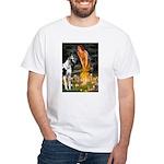 Fairies / Gr Dane (h) White T-Shirt