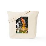 Fairies / Gr Dane (h) Tote Bag