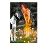 Fairies / Gr Dane (h) Postcards (Package of 8)