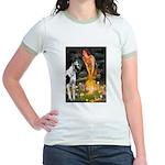 Fairies / Gr Dane (h) Jr. Ringer T-Shirt