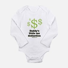 Daddy's little tax deduction / Baby Humor Body Sui