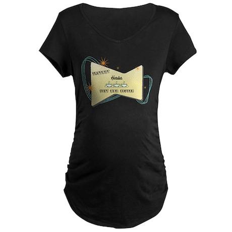 Instant Hotelier Maternity Dark T-Shirt