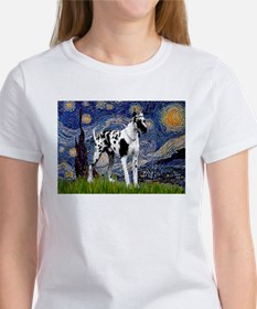 Starry / Gr Dane (h) Women's T-Shirt