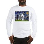 Starry / Gr Dane (h) Long Sleeve T-Shirt