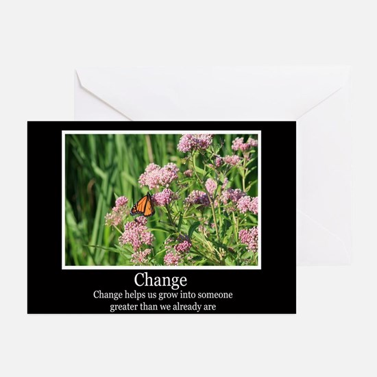 Change Helps Us Grow Greeting Cards (Pk of 20)