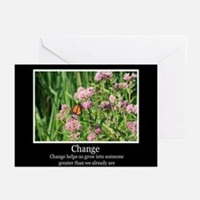 Change Helps Us Grow Greeting Cards (Pk of 10)
