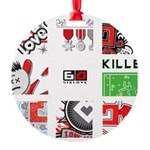 Six Love Tennis - Tennis Brand Ornament