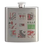 Six Love Tennis - Tennis Brand Flask