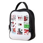 Six Love Tennis - Tennis Brand Neoprene Lunch Bag