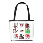 Six Love Tennis - Tennis Brand Bucket Bag