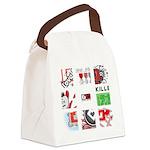 Six Love Tennis - Tennis Brand Canvas Lunch Bag