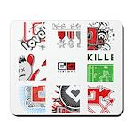 Six Love Tennis - Tennis Brand Mousepad