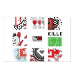 Six Love Tennis - Tennis Brand Postcards (Package