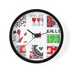 Six Love Tennis - Tennis Brand Wall Clock