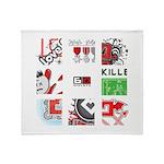 Six Love Tennis - Tennis Brand Throw Blanket