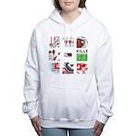 Six Love Tennis - Tennis Brand Women's Hooded Swea