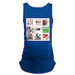 Six Love Tennis - Tennis Brand Maternity Tank Top