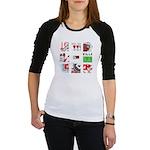 Six Love Tennis - Tennis Brand Baseball Jersey