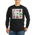 Six Love Tennis - Tennis Brand Long Sleeve T-Shirt