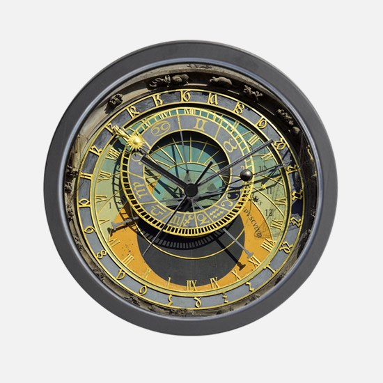 Cute Travel Wall Clock