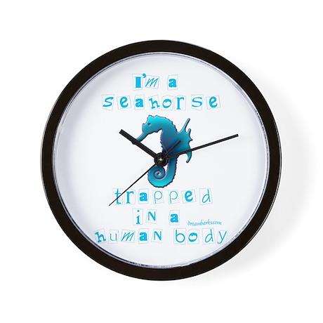 I'm a Seahorse Wall Clock