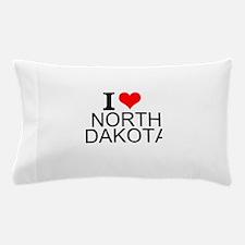 I Love North Dakota Pillow Case