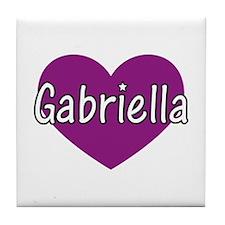 Gabriella Tile Coaster