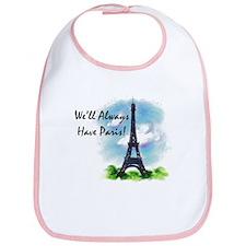 """We'll always have Paris"" Bib"