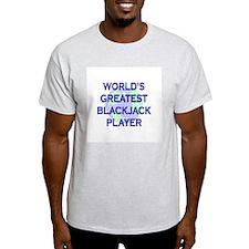 World's Greatest Blackjack Pl T-Shirt