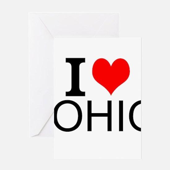 I Love Ohio Greeting Cards