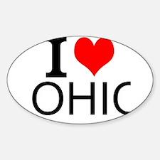I Love Ohio Decal