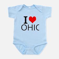 I Love Ohio Body Suit