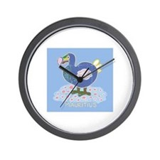 Colorful dodo Wall Clock