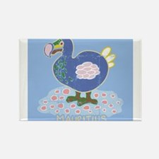 Colorful dodo Rectangle Magnet