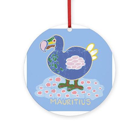 Colorful dodo Ornament (Round)