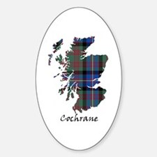 Map - Cochrane Sticker (Oval)