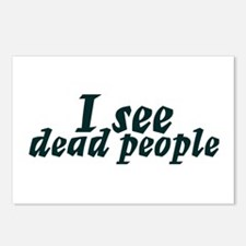 I see dead people Postcards (Package of 8)