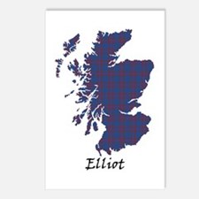 Map - Elliot Postcards (Package of 8)