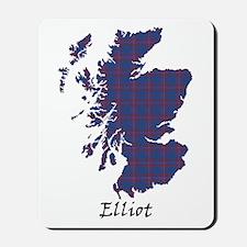 Map - Elliot Mousepad
