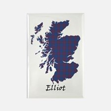 Map - Elliot Rectangle Magnet