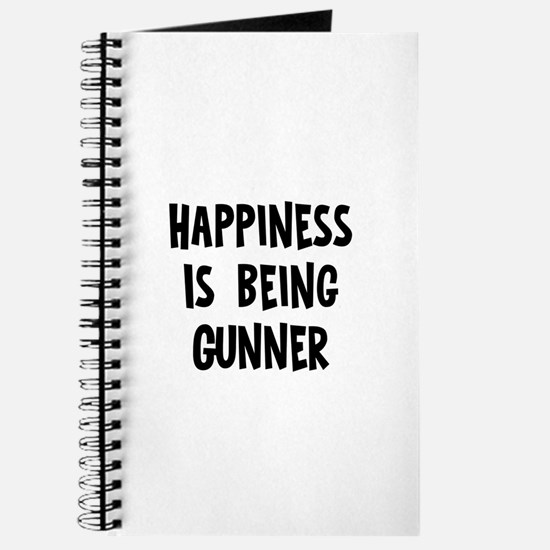 Happiness is being Gunner Journal