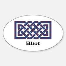 Knot - Elliot Sticker (Oval)