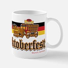 Oktoberfest Beer Wagon Mugs