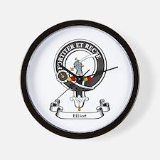 Badge - Elliot Wall Clock
