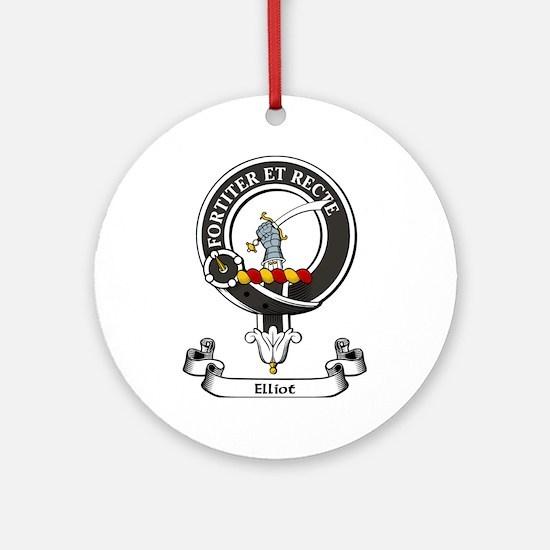 Badge - Elliot Ornament (Round)