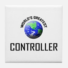World's Greatest CONTROLLER Tile Coaster